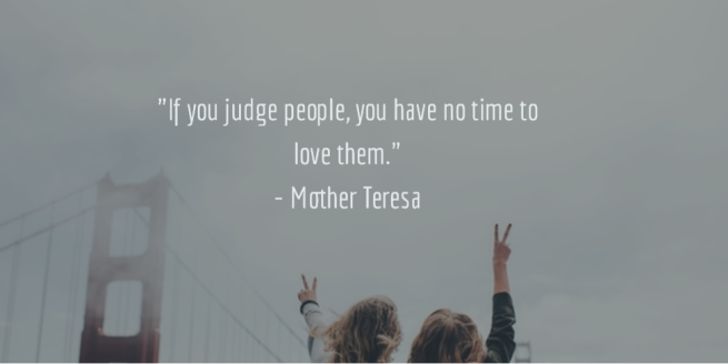 love don't judge